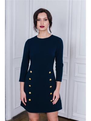 Платье мини с пуговицами Self Made