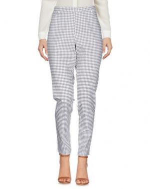 Повседневные брюки SISI. Цвет: хаки