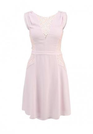 Платье French Connection. Цвет: розовый