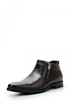 Ботинки классические Instreet. Цвет: коричневый