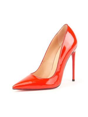 Туфли Lottini. Цвет: красный
