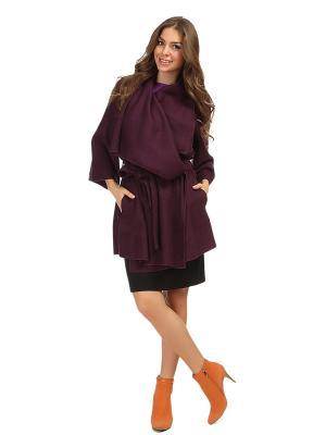 Пальто MONDIGO. Цвет: сливовый, фиолетовый