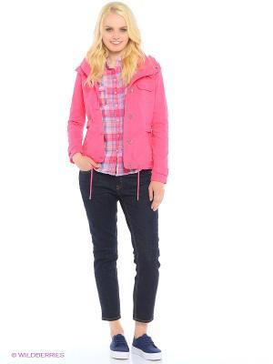 Куртка Colin's. Цвет: розовый