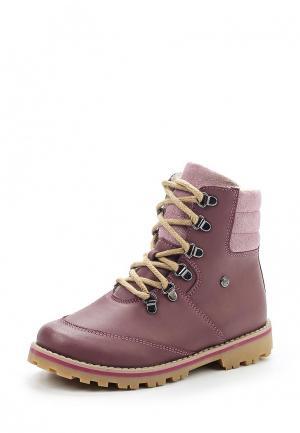 Ботинки Bartek. Цвет: розовый