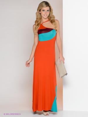 Платье МадаМ Т. Цвет: терракотовый