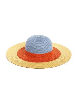 Шляпа Moltini. Цвет: оранжевый, желтый