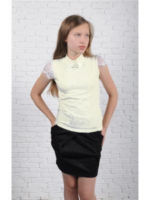 Блузка ZEBRA KIDS. Цвет: молочный