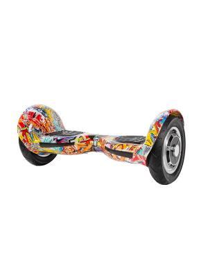 Оригинальный гироскутер CarWalk Offroad. Размер колеса 10 дюймов.. Цвет: красный, оранжевый