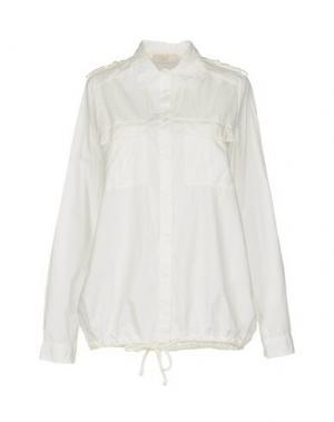 Pубашка E_GO' SONIA DE NISCO. Цвет: белый
