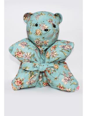 Декоративная подушка Mammi. Цвет: бирюзовый
