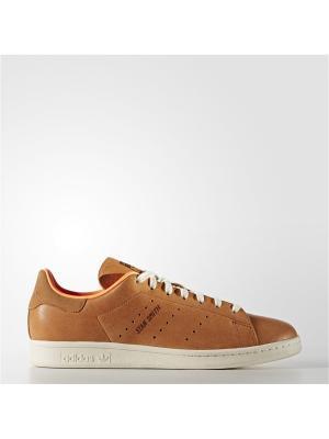 Кеды Adidas. Цвет: рыжий