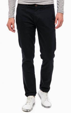 Синие хлопковые брюки чиносы Wrangler W14LEG114