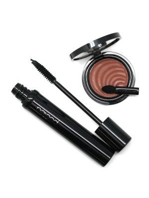 Набор декоративной косметики POETEQ. Цвет: коричневый, черный