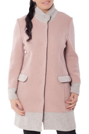 Пальто Woolhouse. Цвет: розовый, серый