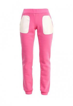 Спортивные брюки Disash. Цвет: розовый
