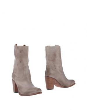 Полусапоги и высокие ботинки SEBOY'S. Цвет: светло-серый
