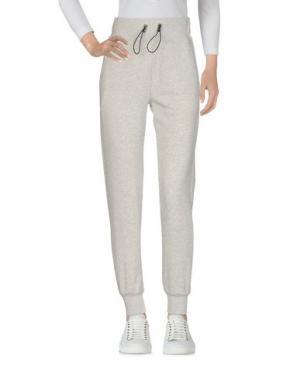 Повседневные брюки HYDROGEN. Цвет: светло-серый