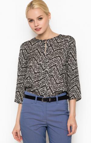 Блуза Cinque. Цвет: серый