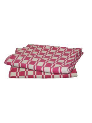 Одеяло Шерстяно-суконная фабрика. Цвет: розовый