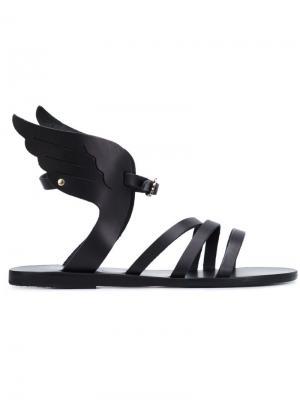 Сандалии Ikaria Ancient Greek Sandals. Цвет: чёрный