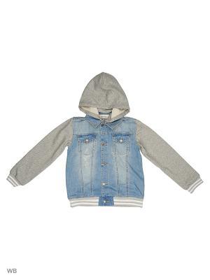 Куртка S`Cool. Цвет: серо-голубой