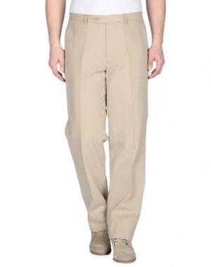 Повседневные брюки GERANI. Цвет: бежевый