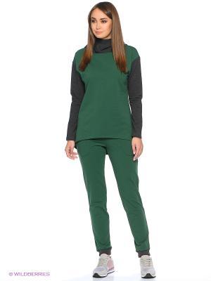 Спортивный костюм Габриэлла Runika. Цвет: зеленый