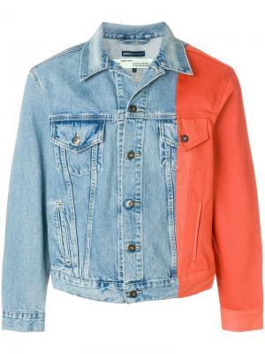 Джинсовая куртка  x Levis Made & Crafted Off-White. Цвет: синий