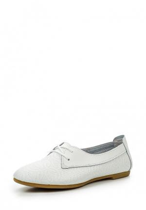 Ботинки Destra. Цвет: белый
