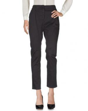 Повседневные брюки NOVEMB3R. Цвет: стальной серый