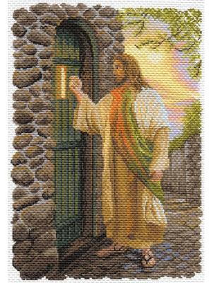 Рисунок Иисус Матренин Посад. Цвет: коричневый
