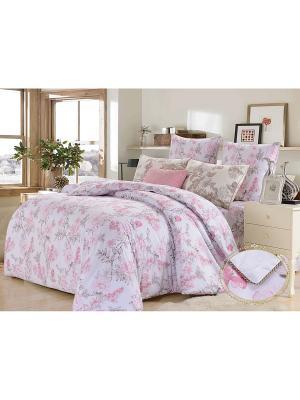 Комплект постельного белья, Роза Лилиан, 1.5 спальный KAZANOV.A.. Цвет: розовый