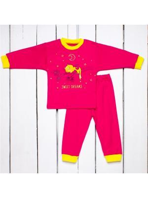 Пижама Утенок. Цвет: малиновый