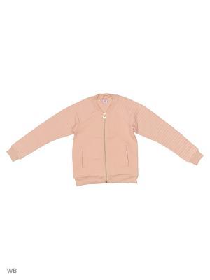 Бомбер SELA. Цвет: бледно-розовый