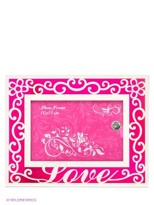 Фоторамка, 10х15 Love VELD-CO. Цвет: розовый