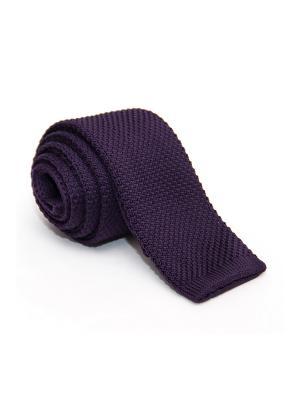 Галстук Churchill accessories. Цвет: сливовый, темно-фиолетовый
