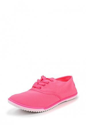 Кроссовки D.T. New York. Цвет: розовый