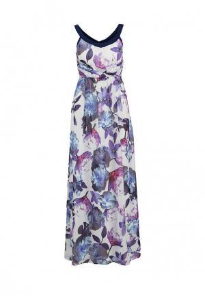 Платье Uttam Boutique. Цвет: синий