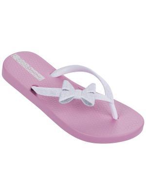 Шлепанцы Ipanema. Цвет: розовый, белый