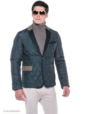 Куртка Baon. Цвет: темно-зеленый, коричневый