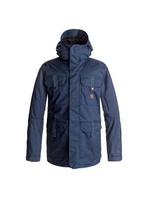 Куртка сноубордическая DC Shoes. Цвет: синий, индиго, темно-синий