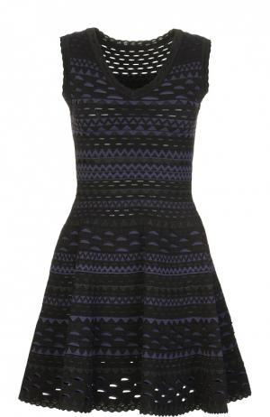Платье Alaia. Цвет: синий