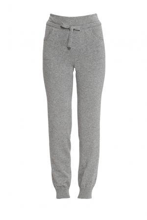Кашемировые брюки 165258 Nobili. Цвет: серый