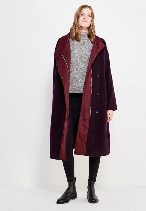 Пальто Parole by Victoria Andreyanova. Цвет: фиолетовый