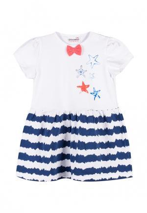 Платье Coccodrillo. Цвет: разноцветный