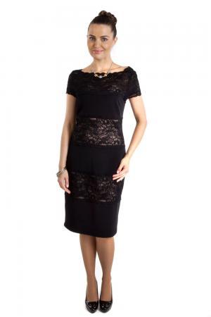 Вечернее платье Joseph Ribkoff. Цвет: чёрный