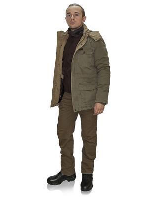 Куртка Valdaj TACTICAL FROG. Цвет: оливковый, светло-коричневый