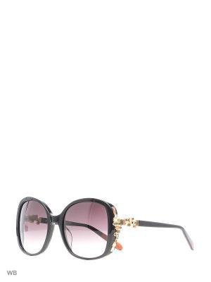 Солнцезащитные очки MI 830S 01 Missoni. Цвет: черный