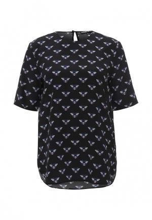 Блуза Markus Lupfer. Цвет: черный