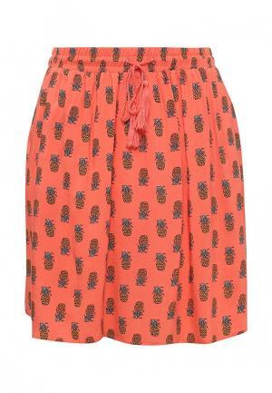 Юбка Modis. Цвет: оранжевый